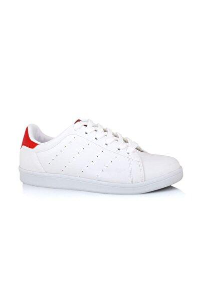 LIG 18-01-80 Kırmızı- Beyaz Spor Ayakkabısı