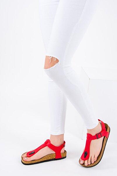 Fox Shoes Kırmızı Kadın Sandalet B777805009