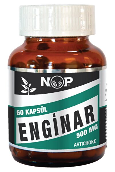 Sepe Natural Nop Enginar 60 Kapsül 500 mg Artichoke 60 Kapsül Skt:2023
