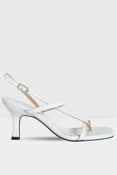 Aldo Kadın Beyaz Topuklu Sandalet
