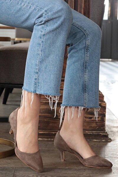 Mio Gusto Vizon Kadın Topuklu Ayakkabı 009035MI
