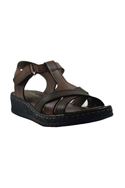 PUNTO 390112 Kadın Sandalet - - Taba - 40
