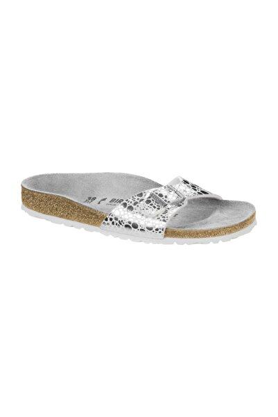 Birkenstock Madrıd Çok Renkli Terlik 1008802_Metallıc Taş Gümüş