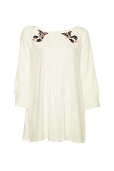 Kadın Beyaz Tunik IS1190016020