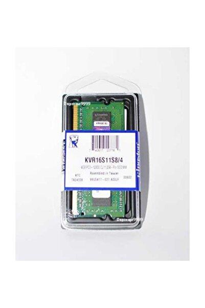 Kingston 4 GB DDR3  VOLTAGE 1.5V 1600 MHz KINGSTON CL11 SODIMM (KVR16S11S8/4G)