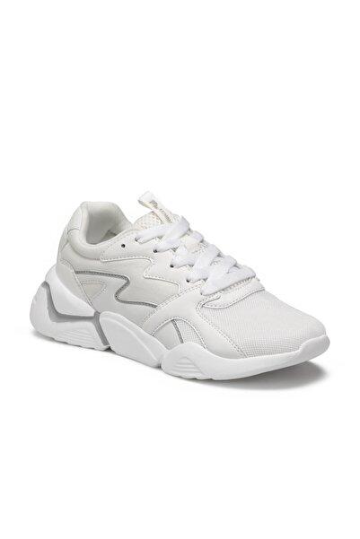 Puzzle Beyaz Kadın Sneaker Ayakkabı