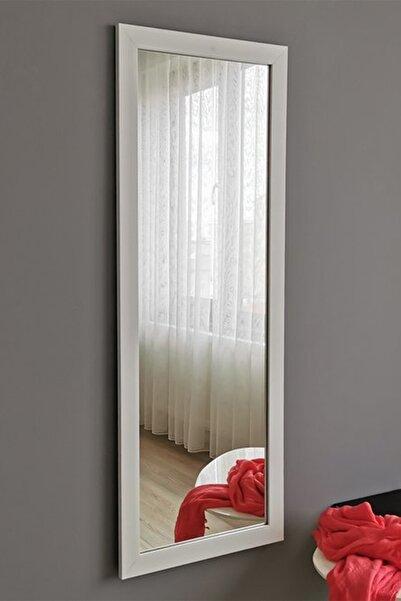 Vivense Neostill - 40X105 Cm Beyaz Çerçeveli Dekoratif Boy Ayna A201