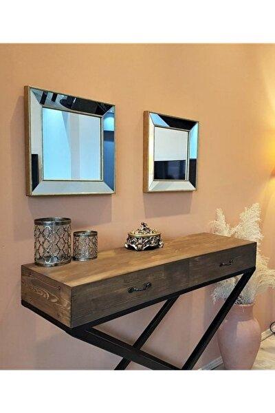 Vivense Neostill 2Li Dekoratif Duvar Salon Ofis Çerçeveli Ayna A403C