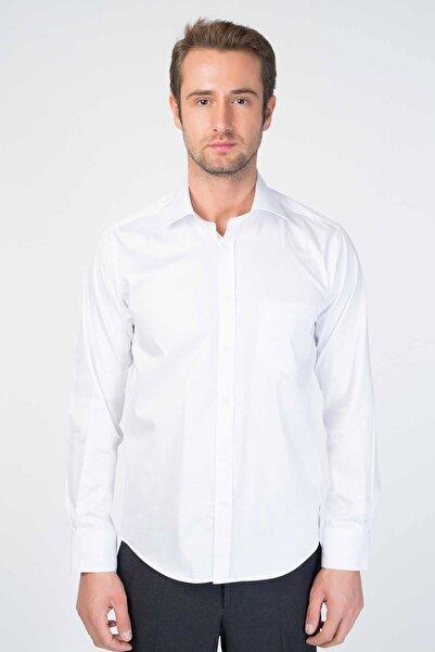 Centone Regular Fit Uzun Kol Cepli Gömlek 19-0389