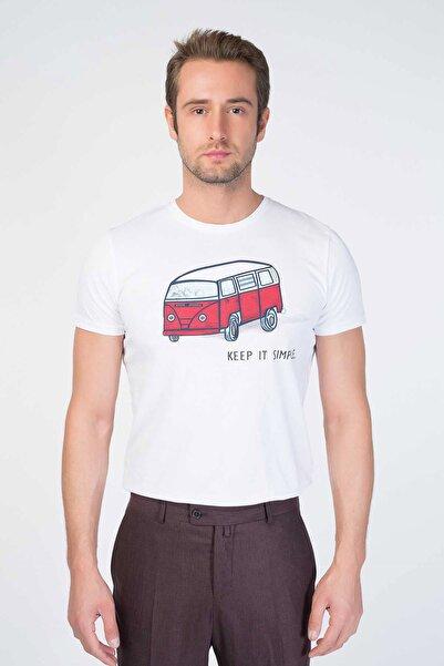Centone Bisiklet Yaka T-shirt 20-5008