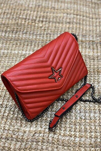 Limoya Bags Nicki Kırmızı El Ve Omuz Çantası
