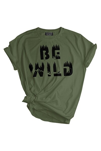 GENIUS Genıus Store Kadın Tişört Outdoor Baskılı T-shirt