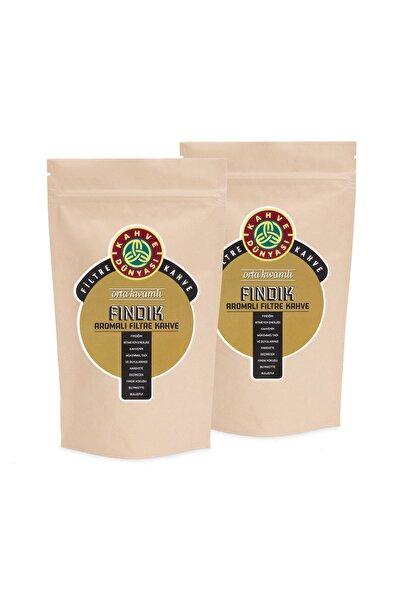 Kahve Dünyası 2'li Fındık Aromalı Filtre Kahve 250g