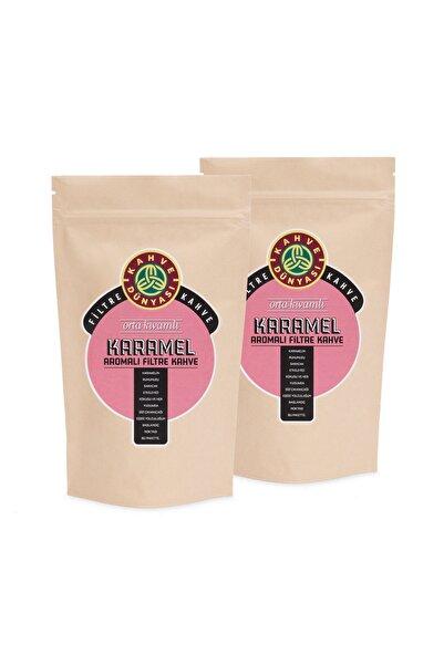 Kahve Dünyası 2'li Karamel Aromalı Filtre Kahve 250g