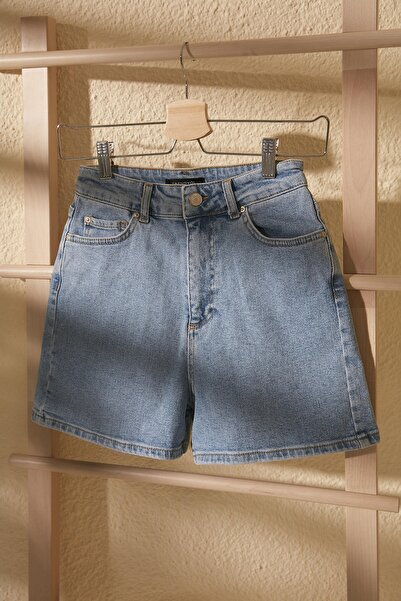 Mavi Mom Denim Şort TWOSS20SR0210