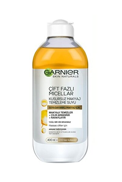 Garnier Çift Fazlı Mıcellar Kusursuz Makyaj Temizleme Suyu 400 ml 3600541744486