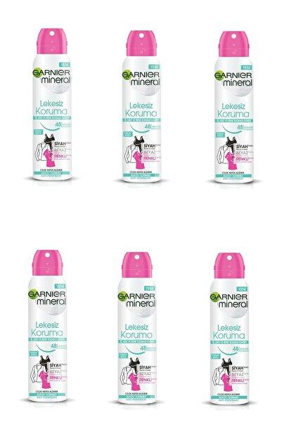 Garnier 6 Lı Set Anti - Perspirant Sprey Deodorant - Lekesiz Koruma 150 Ml 3600541928879