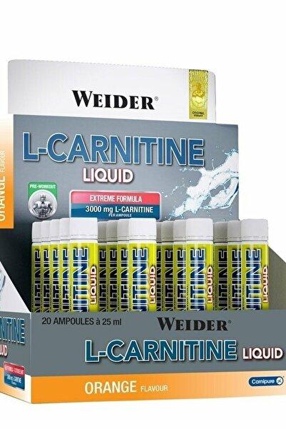 L-carnitine Liquid 3000 Mg 20 Ampul - Portakal