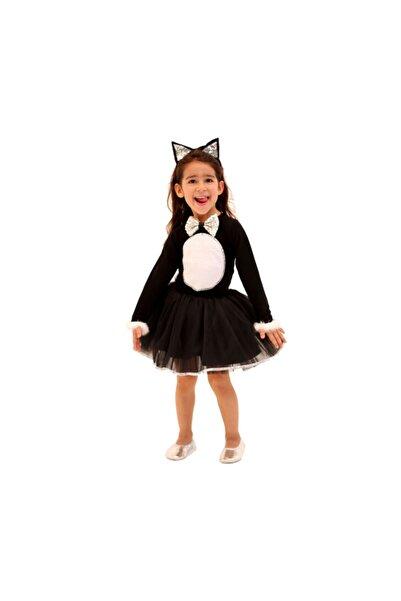 Peri Hediyelik Kedi Kız Çocuk Kostümü 4 Yaş