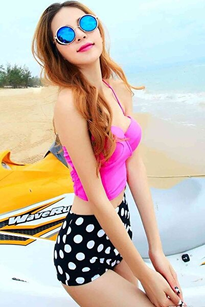 Xanded Şık Bikini Üstü Pembe