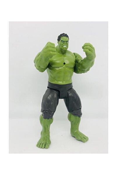 Can Ali Toys Orta Boy 17 Cm Işıklı Hareketli Avengers Yenilmezler Oyuncak Hulk Karakter Figür