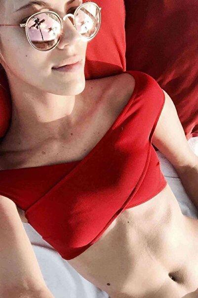 Xanded Şık Bikini Üstü Kırmızı