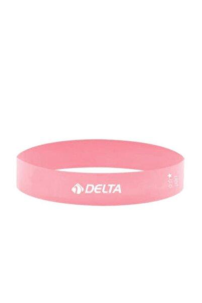 Delta Hafif Sert Aerobik Bandı Latex Bant Pilates Yoga Lastiği
