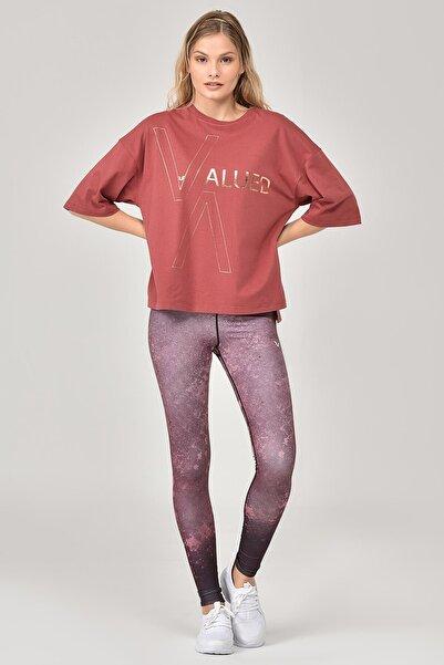 bilcee Kahverengi Kadın T-Shirt FW-1332