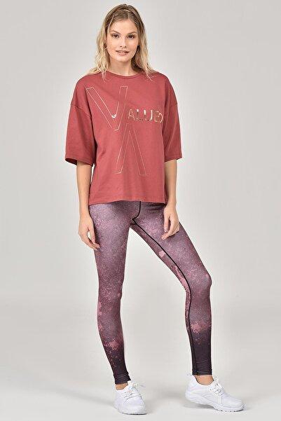 Kahverengi Kadın T-Shirt FW-1332