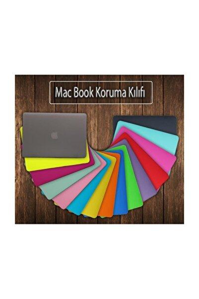 Techmaster Macbook Pro 13 2019 A2159 Kılıf Rubber Kapak Siyah