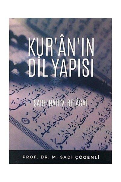 Zafer Yayınları Kur'an'ın Dil Yapısı - M. Sadi Çögenli