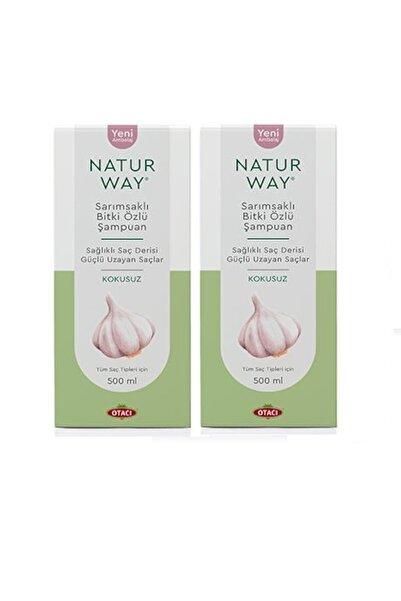 Natur Way 2 Adet Naturway Sarımsaklı Şampuan 500ml