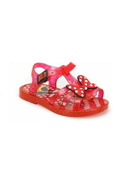 Minnie Mouse 92703 Kırmızı Kız Çocuk Sandalet