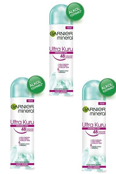Garnier 3 Lü Set Anti - Perspirant Sprey Deodorant - Ultra Kuru 150 Ml 3600541932654
