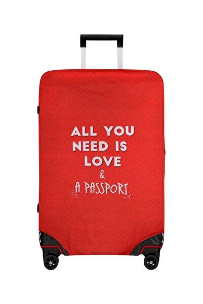 Dogo Love And Passport Orta Boy Valiz Kılıfı