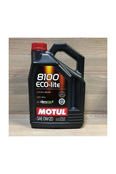 Motul 8100 Eco-lite 0w20 4 Lt %100 Sentetik Motor Yağı Honda - 2020