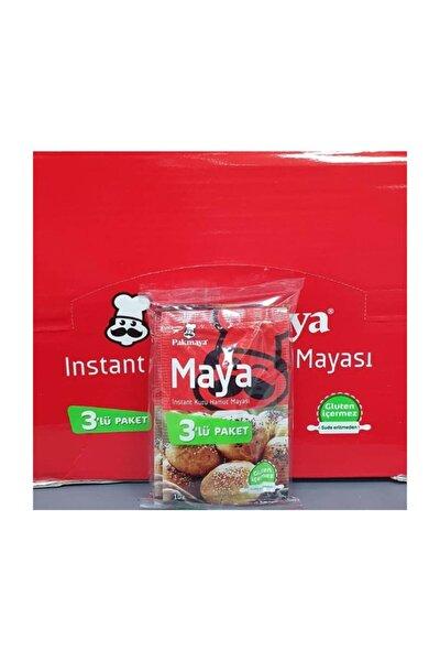 Pakmaya Kuru Maya Instant 10gr 3lü *24 Paket
