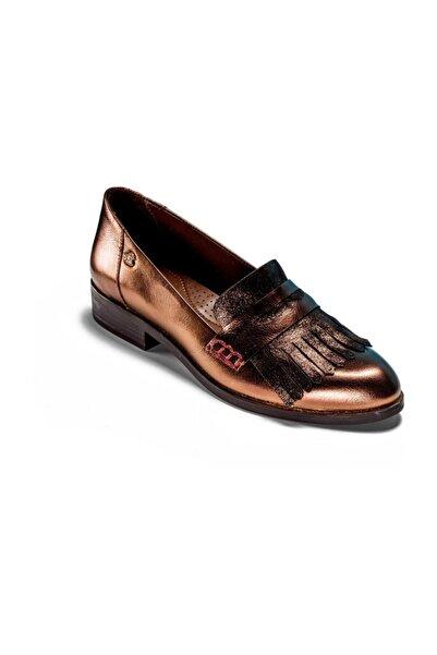 Venüs Kadın Bakır Loafer Ayakkabı