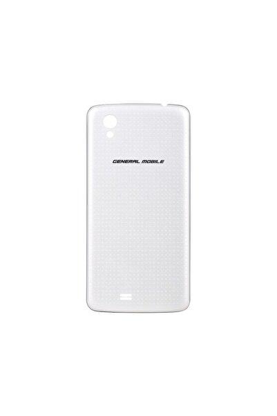 General Mobile Discovery 2 Mini Arka Kapak Batarya Pil Kapağı Beyaz