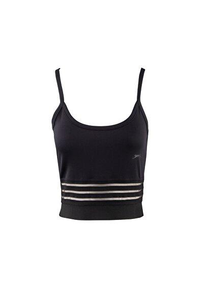 Slazenger Push Kadın T-shirt Siyah