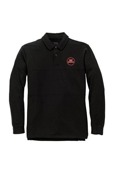Supra Sixty Block Ls Polo Blk Tişört