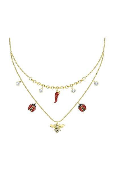 Swarovski Kolye Lisabel:Necklace Dmul/Gos 5498807