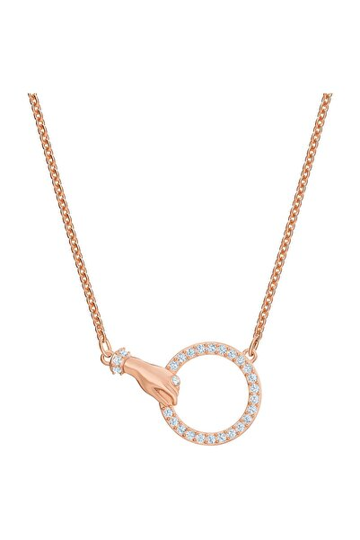 Swarovski Kolye Swa Symbol:Necklace Hand Cry/Ros 5489573