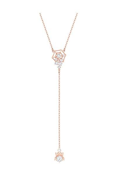 Swarovski Kolye Precisely:Necklace Y Czwh/Cry/Ros 5499885