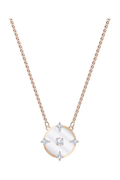 Swarovski Kolye North:Necklace Glass Czwh/Ros 5488400