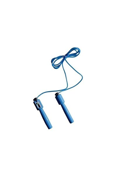 Sayaçlı Uzunluk Ayarlı Göstergeli Mavi Atlama İpi