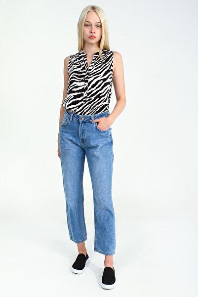 Collezione Kadın Açık Mavi Pantolon Galetts UCB021783A56