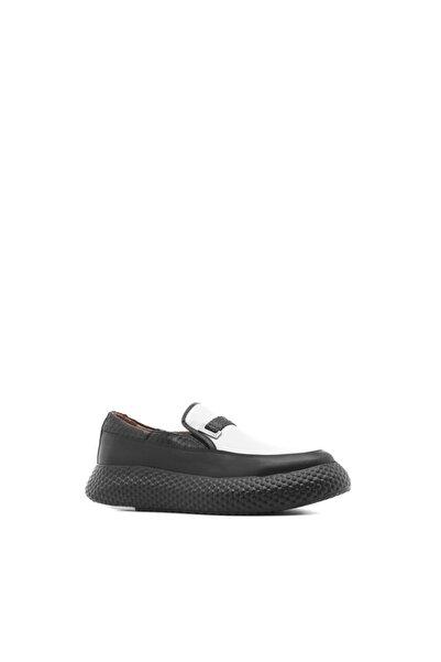 İLVİ Mark Erkek Spor Ayakkabı Siyah Softy -siyah Anakonda
