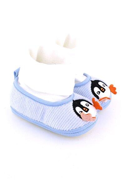 Funny Baby Penguen Nakışlı Bebek Ayakkabı