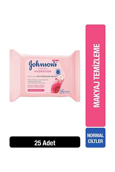 Johnson's Makyaj Temizleme Mendili Gül